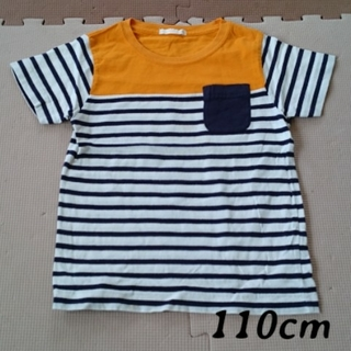 ジーユー(GU)の110cm ジーユー Tシャツ(Tシャツ/カットソー)