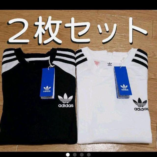 adidas(アディダス)のロンT adidas originals レディースのトップス(Tシャツ(長袖/七分))の商品写真
