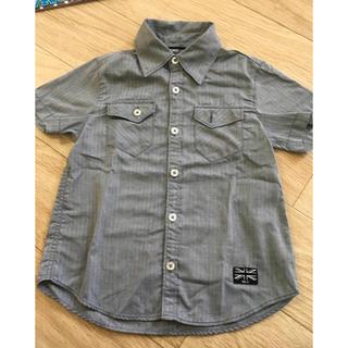 シマムラ(しまむら)の110㎝ 前空きシャツ(ブラウス)