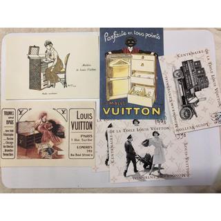 ルイヴィトン(LOUIS VUITTON)の非売品 ルイヴィトン ポストカード(ノベルティグッズ)