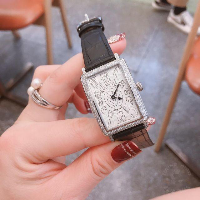 FRANCK MULLER(フランクミュラー)のレディース FRANCK MULLER フランクミュラー 腕時計 レザーベルト レディースのファッション小物(腕時計)の商品写真