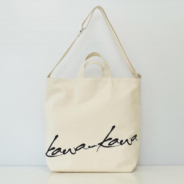 PAPILLONNER(パピヨネ)の☆Kawakawa キャンバストート☆ レディースのバッグ(トートバッグ)の商品写真