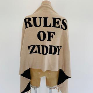 【美品】ZIDDY 大判ストール