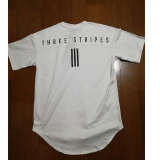 アディダス(adidas)のしゃんくす様専用adidas今季人気バックプリントT 白L 未使用タグ付き(Tシャツ/カットソー(半袖/袖なし))