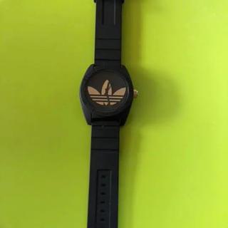 アディダス(adidas)のadidas 腕時計 アディダス 傷あり 黒金(腕時計(アナログ))