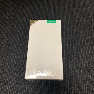 アンドロイド(ANDROID)のOPPO R15 Neo 3GB ピンク(スマートフォン本体)