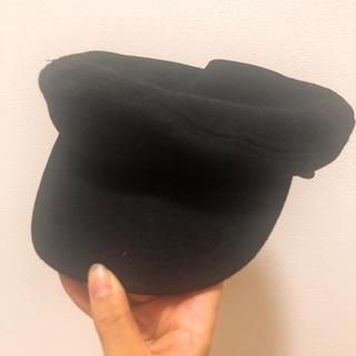イング(INGNI)のINGNI 黒帽子(ハット)