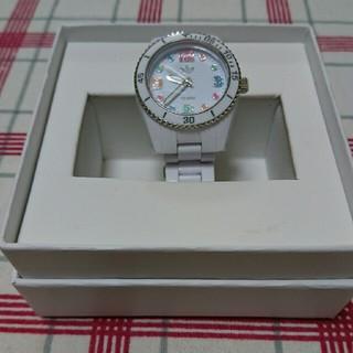 アディダス(adidas)のadidas ホワイトカラフル腕時計☆おらきよ様専用(腕時計(アナログ))