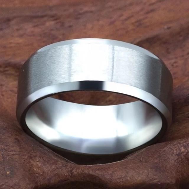 ✨送料無料✨人気商✨COOL✨(8㍉)silverリング メンズのアクセサリー(リング(指輪))の商品写真