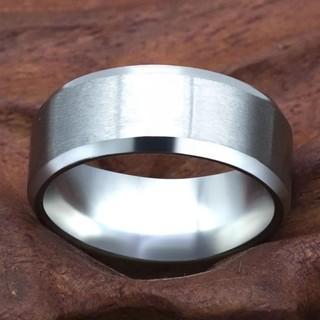 ✨送料無料✨人気商✨COOL✨(8㍉)silverリング(リング(指輪))