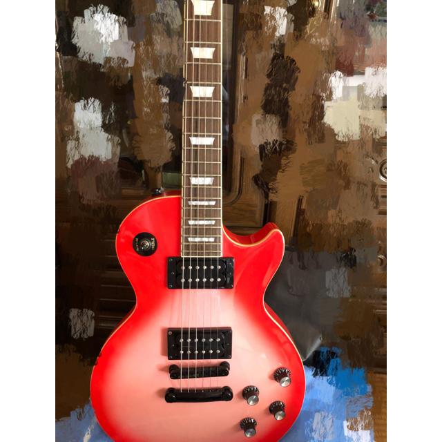 Epiphone(エピフォン)のエピフォンのエレキギター、レスポールのピンク 楽器のギター(エレキギター)の商品写真