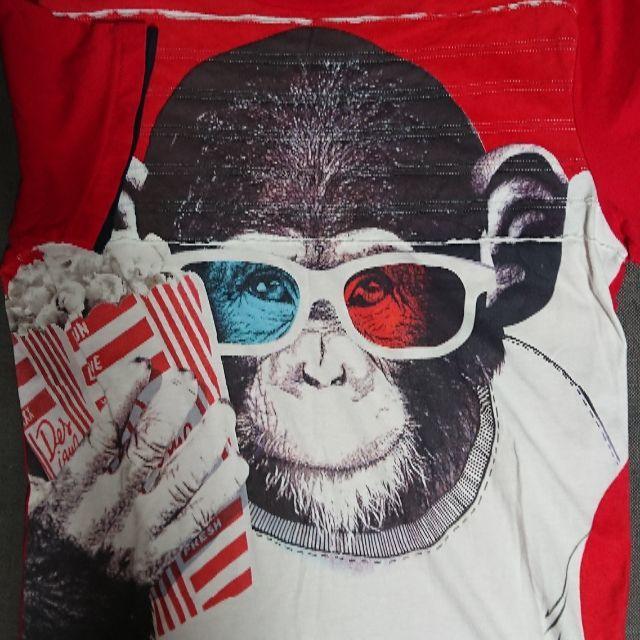 DESIGUAL(デシグアル)のDESIGUAL  デジアグル  アニマルTシャツ メンズのトップス(Tシャツ/カットソー(半袖/袖なし))の商品写真