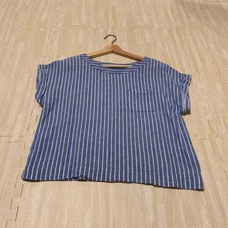 ジーユー(GU)のGUのストライプTシャツです(シャツ/ブラウス(半袖/袖なし))
