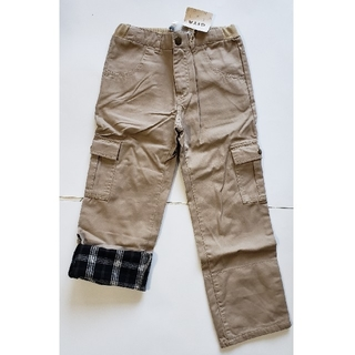 ベルメゾン(ベルメゾン)の子供服ズボン(茶)と(黒)(パンツ/スパッツ)