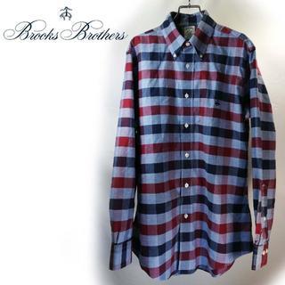 ブルックスブラザース(Brooks Brothers)のブルックスブラザーズ  ブロックチェック  BDシャツ(シャツ)
