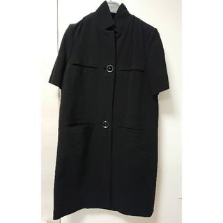 マルニ(Marni)のMARNI コート 黒 38(スプリングコート)