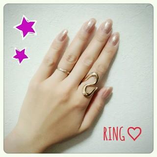 ♡ゴールドring♡(リング(指輪))