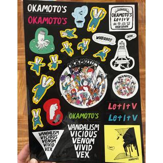OKAMOTO'S オカモトズ ステッカー(ミュージシャン)