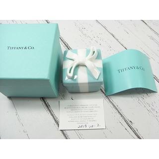 ティファニー(Tiffany & Co.)の★本物鑑正品新品ティファニー陶器製リボン 小物入れ(小物入れ)
