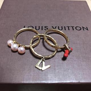 ルイヴィトン(LOUIS VUITTON)の  美品 🌸 LOUIS VUITTON 🌸 リング(リング(指輪))