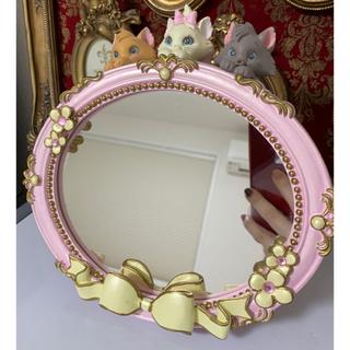 Disney - おしゃれキャット 卓上ミラー  鏡