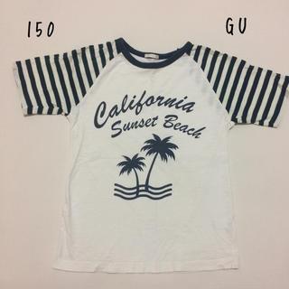 ジーユー(GU)の150センチ GU Tシャツ(Tシャツ/カットソー)