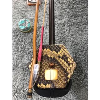 二弦の胡弓 中国製 ケース付き