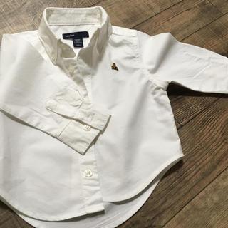 ギャップ(GAP)の白シャツ  80(シャツ/カットソー)