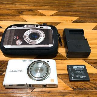 パナソニック(Panasonic)のDMC-FX77 LUMIX m9021802-2 動作確認済み 送料無料(コンパクトデジタルカメラ)