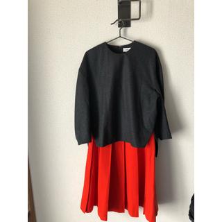 エンフォルド(ENFOLD)のENFOLD  グレートップス+赤スカート(オマケ)(カットソー(長袖/七分))