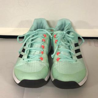 アディダス(adidas)のadidas テニスシューズ 25cm(シューズ)