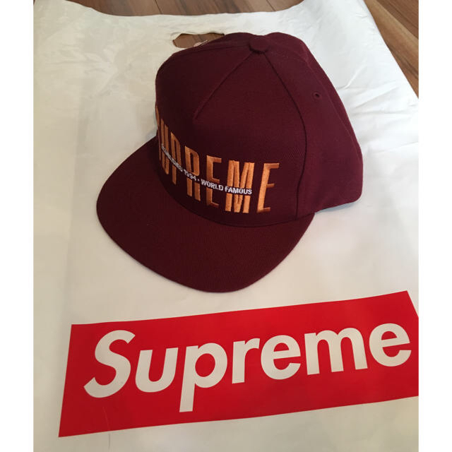 b2580ba077ce0 Supreme - Supreme 18AW GLOBAL 5-PANEL CAP の通販 by GOD MAN s shop ...