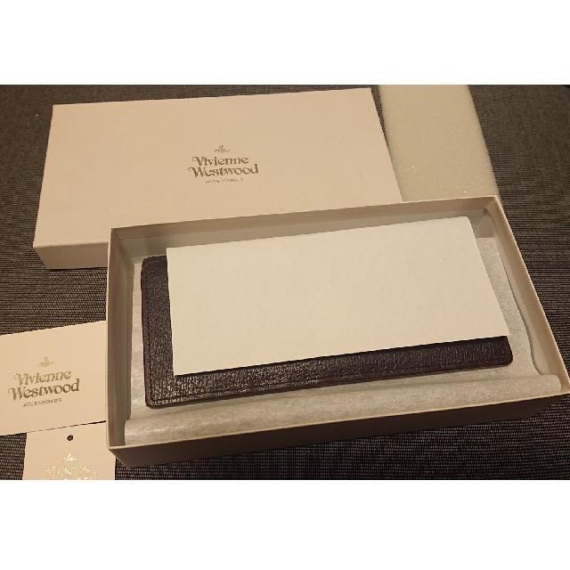 Vivienne Westwood(ヴィヴィアンウエストウッド)のVivienne Westwood 長財布【ダークブラウン】 レディースのファッション小物(財布)の商品写真