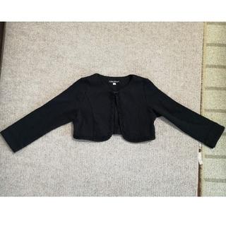 78be829bd0cb8 ベベ(BeBe)のベベ カーディガン ジャケット フォーマル 黒(ドレス フォーマル)