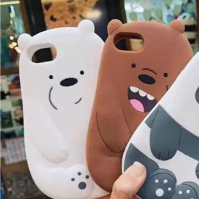 iPhone XRケース パンダ シロクマ ベアーの通販 by m's shop|ラクマ