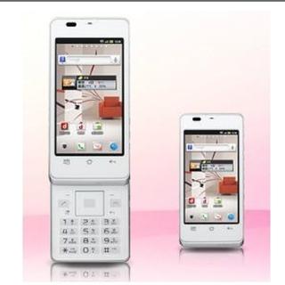 格安・未使用品・ガラケー AQUOS PHONE Slider SH-02D(携帯電話本体)
