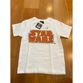 ジーユー(GU)のGU  Tシャツ 120cm  スターウォーズ 半袖  新品(Tシャツ/カットソー)