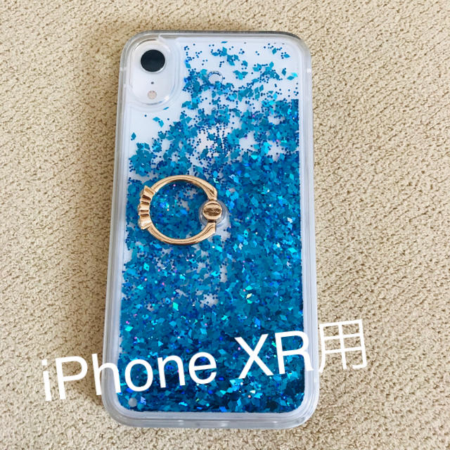 iphone7 ケース valfre 、 iPhone XR グリッターケースの通販 by mk's shop|ラクマ