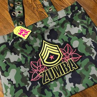 Zumba - ★ズンバ★迷彩柄トートバッグ