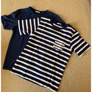 ジーユー(GU)のGU Tシャツ 2点セット(Tシャツ/カットソー)