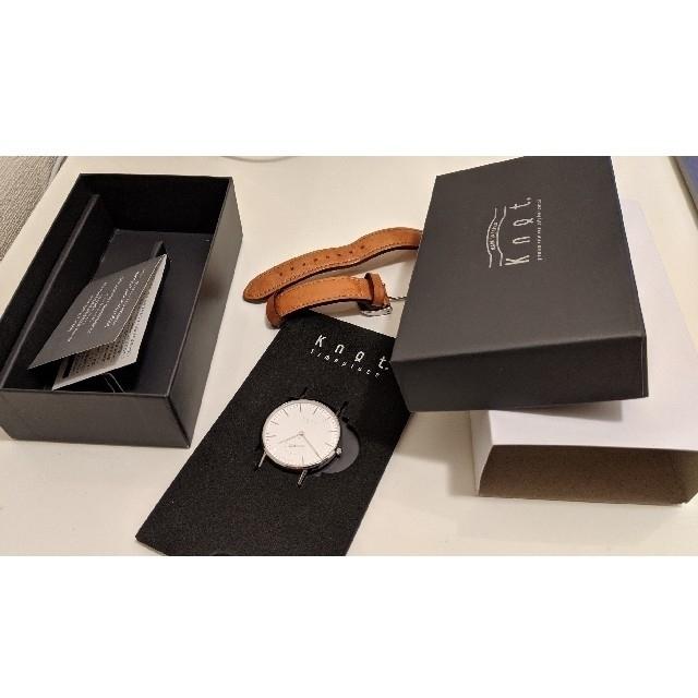 Knot/not(ノットノット)のKnot 腕時計 CS-36 スモールセコンド メンズの時計(腕時計(アナログ))の商品写真
