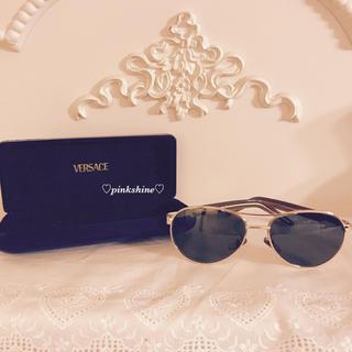 ジャンニヴェルサーチ(Gianni Versace)のレア♡日本未入荷VERSACE ティアドロップ型サングラス♡(サングラス/メガネ)