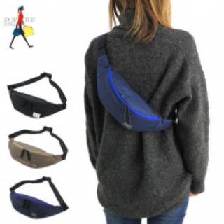 PORTER - PORTER GIRL MOUSSE WAIST BAG(L) ネイビー