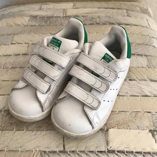 アディダス(adidas)のadidas アディダス スタンスミス ベルクロ キッズ ベビー 14cm(スニーカー)