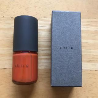 シロ(shiro)のshiro 亜麻ネイル 8l05(マニキュア)