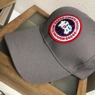 カナダグース(CANADA GOOSE)のカナダグース キャップ 帽子(キャップ)