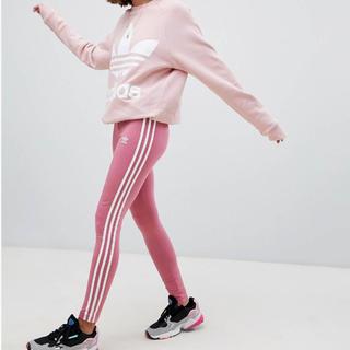 アディダス(adidas)のadidas レギンス ピンク(レギンス/スパッツ)