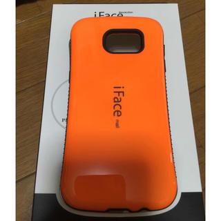 5ce7fd0814 iFace mall GalaxyS7edgeハードケース オレンジ(Androidケース)
