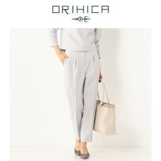 オリヒカ(ORIHICA)の新品 L THE 3rd SUITS ストレッチ クロップドタックパンツ 春夏(その他)
