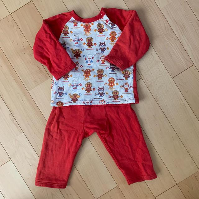 アンパンマン(アンパンマン)のアンパンマンのパジャマ キッズ/ベビー/マタニティのキッズ服 男の子用(90cm~)(パジャマ)の商品写真